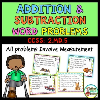 Addition And Subtraction Word Problems Within 100 Worksheets