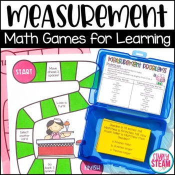 Measurement Word Problems for Second Grade