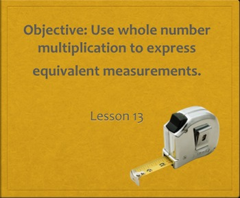 Measurement Word Problems in 4 Lessons