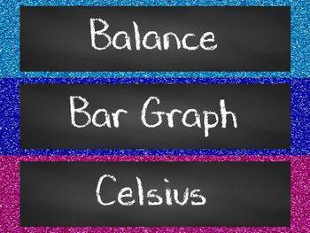 Scientific Measurement Word Wall