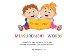 Measurement Words