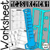 Measurement Worksheet for Review or Assessment