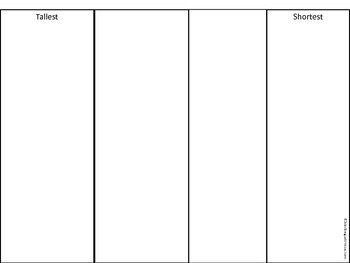 Measurement  Worksheet -freebie