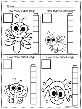 Measurement Worksheets Bugs