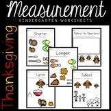 Measurement Worksheets- Longer/ Shorter/ Heavier/ Lighter
