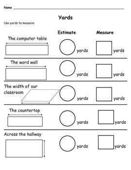 measurement worksheets packet by teacher mom teachers pay teachers. Black Bedroom Furniture Sets. Home Design Ideas