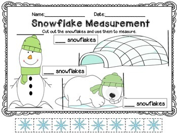 Measurement Worksheets using Non-Standard Units