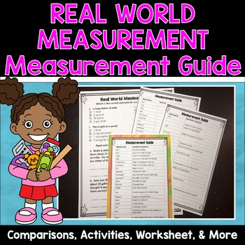 Measurement Worksheets with Real World Comparisons
