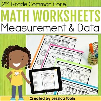 Measurement and Data- 2nd Grade Math Printables Worksheets