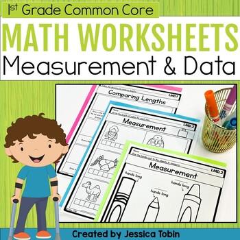 Measurement and Data- 1st Grade Math Printables Worksheets