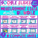 Measurement and Data 2nd Grade Math Google Slides Distance Learning