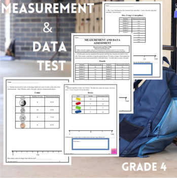 Measurement and Data Assessment Grade 4 (4.MD.4)