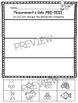 Kindergarten Measurement and Data Math Tests - First Grade Assessments