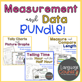 Measurement and Data Bundle- CCSS Grade 1 and enVision 2.0