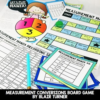 Measurement and Data Centers Bundle: 4th Grade Math Test Prep