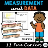 Measurement and Data Centers for 3rd Grade, Third Grade Ma