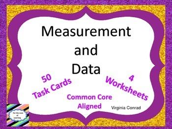 Measurement and Data---Common Core---Third Grade