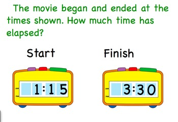 Measurement and Data Elapsed Time