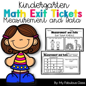 Measurement and Data Exit Tickets