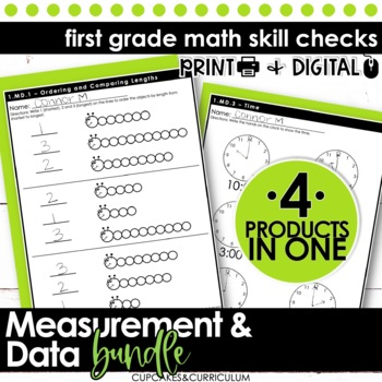 Measurement and Data - First Grade