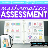 Measurement and Data Math Assessments for K-3