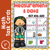 NWEA MAP Prep Math Practice Task Cards Measurement and Dat
