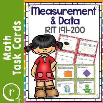Measurement and Data Math Interventions or Test Prep NWEA RIT Band 191-200