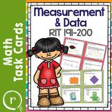 NWEA MAP Test Prep Math Measurement RIT Band 191-200 Inter