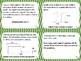Measurement Mixed Operations Word Problems Task Cards Activity