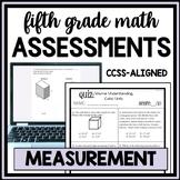 Measurement and Data Quiz Bundle, 5th Grade Math CCSS Aligned, 10 quizzes!