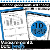 Second Grade Math | Measurement and Data Bundle
