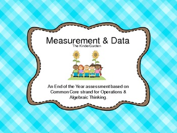 Measurement and Data Strand Common Core End of the Year As