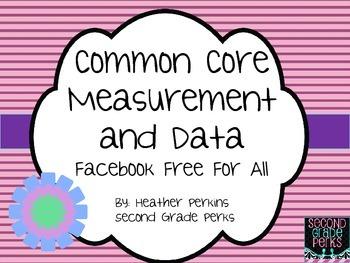 Measurement and Data Task Card Freebie