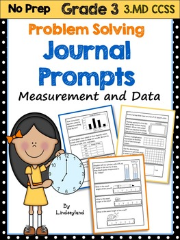Measurement and Data: Problem Solving Journal Prompts