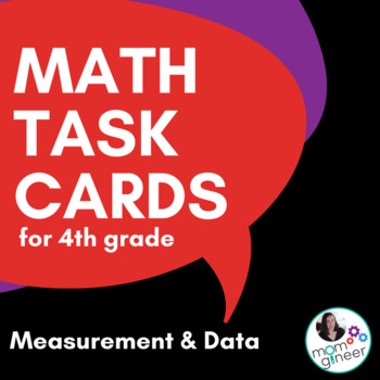 Measurement and Data Task Cards