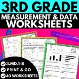 3rd Grade Measurement and Data Worksheets