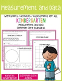Measurement and Data Worksheets / Activities for Kindergar