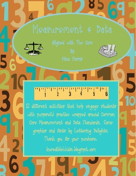 Measurement and Data - aligned with CC - math stations