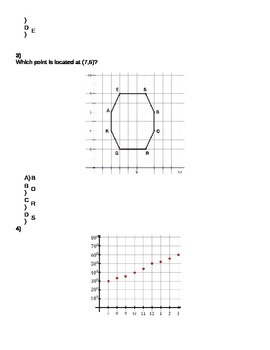 Measurement and Data, and Geometry - (MAFS.5.G.1.2) Graph Points