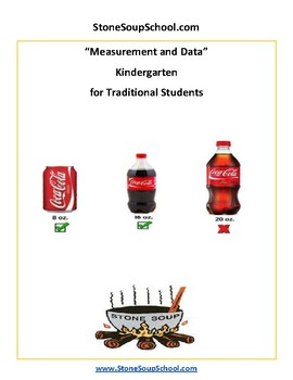 K - Measurement and Data - for Traditional Students -  Common Core
