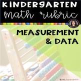 Kindergarten Math Rubric - Measurement and Data
