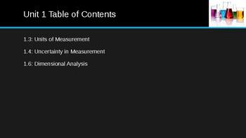 Measurement and Dimensional Analysis