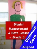 Measurement and Estimating Math Giant Project - 3rd Grade