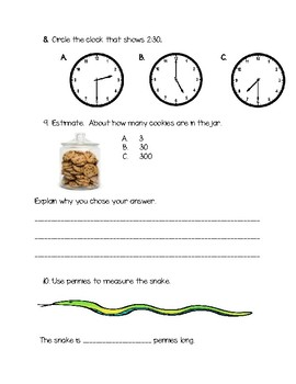 Measurement and Estimation Review