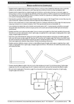 Measurement and Geometry: Geometric reasoning – Year 3