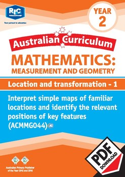 Measurement and Geometry: Location and transformation 1 – Year 2