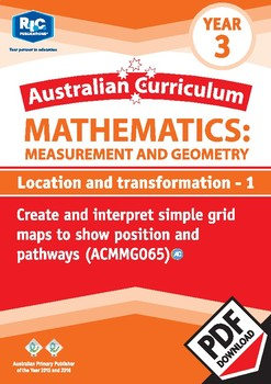 Measurement and Geometry: Location and transformation 1 - Year 3