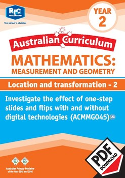 Measurement and Geometry: Location and transformation 2 – Year 2