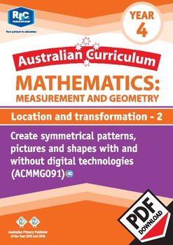 Measurement and Geometry: Location and transformation 2 – Year 4