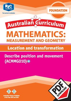 Measurement and Geometry: Location and transformation – Foundation